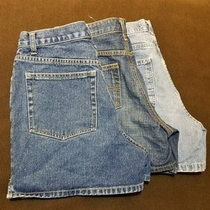 Lot of 3 pairs of SIZE 6 Jean Shorts